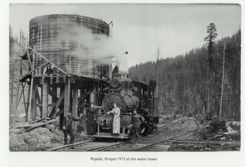 Lane Co. Rujada 1912 Water Tank